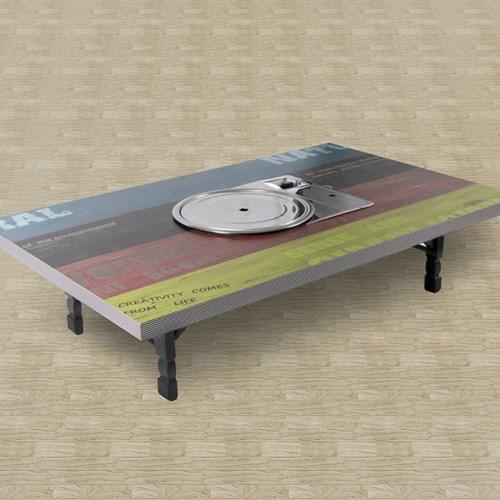 [리코베로]가정용 접이식 불판테이블 1200 김건모테이블 6가지 패턴
