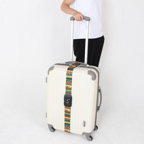 [TCUBE] TSA 3다이얼 여행가방 터짐방지 가방보호벨트 - 잉카