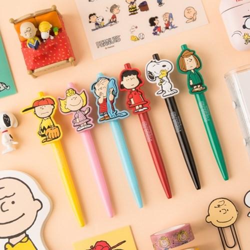 [Peanuts] 캐릭터 펜_스누피와 친구들(6종)