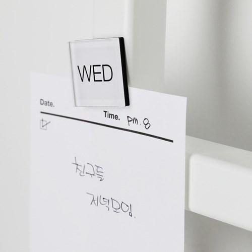 마그넷 데이 - 심플 모던 디자인 인테리어 스케줄 자석