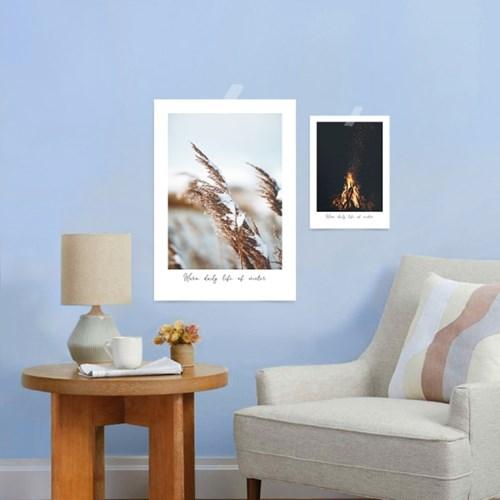 겨울 인테리어 눈내리는 겨울 풍경 거실그림 액자 아트 포스터