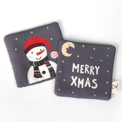 [펠트친구]큐티크리스마스 티매트만들기(2개분량)