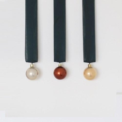 3가지색 크리스마스볼