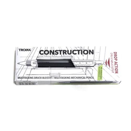 [TROIKA] 0.5mm 샤프 CONSTRUCTION DROP ACTION 블랙 (PIP31/BK)