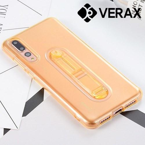 아이폰6S플러스 컬러 클리어 스탠드 젤리 케이스 P380_(2109409)