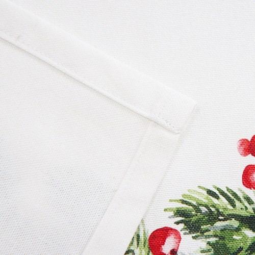 크리스마스 옥스포드 면 패브릭 포스터 - 3type