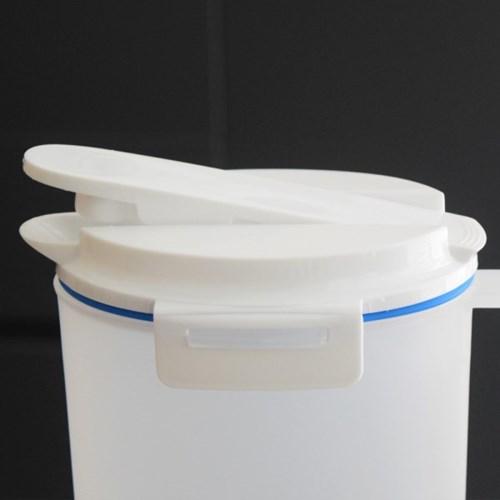 원터치 밀폐 물통 2리터