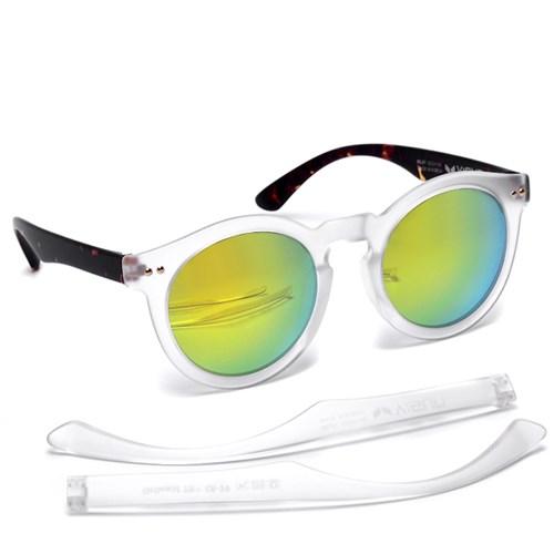 브이선 그릴아미드 TR 명품 뿔테 선글라스 MILKY-07-MGD-TO / V:SUN