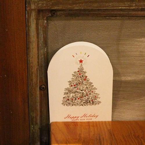 아이씨엘 새해 카드- tree 6set