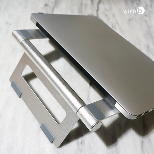 위시비 비스탠드 LS100 알루미늄 폴딩 노트북 거치대