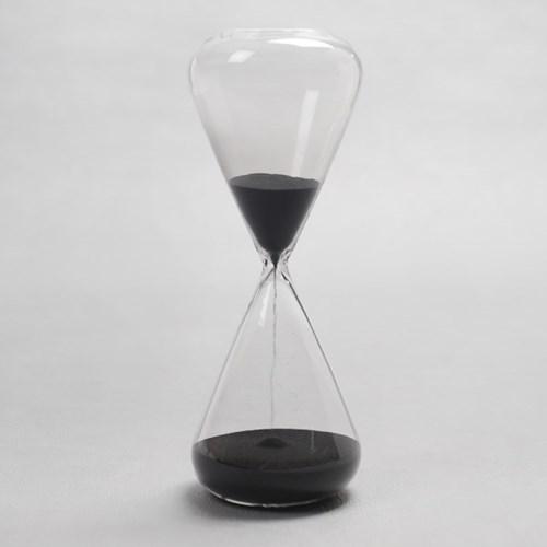 글라스타임 유리 모래시계/인테리어소품 반신욕시계