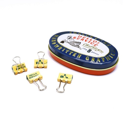[Greetinglife] TIN CASE CLIP SET