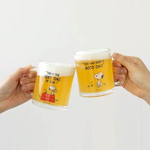 [Peanuts] 월간 스누피 첫번째 이야기 유리컵_GOOD DAY