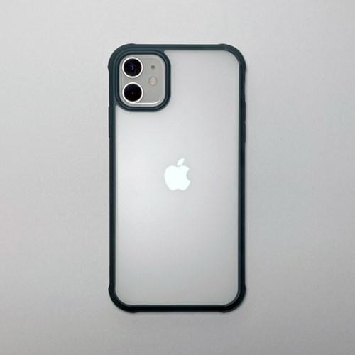 무광 반투명 범퍼 아이폰 케이스