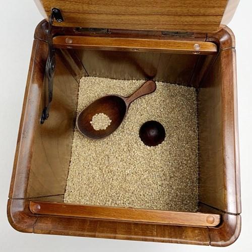 미소나무 DK 원목 쌀통 잡곡통 쌀보관함 10kg