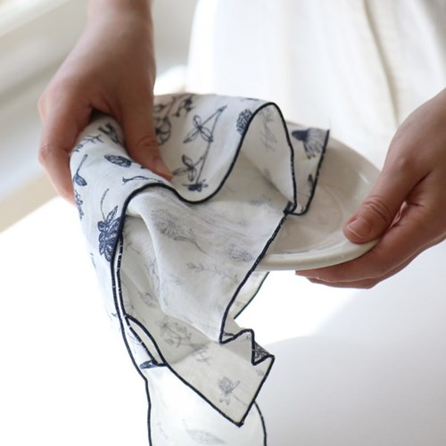 Fabric Letter_ little garden