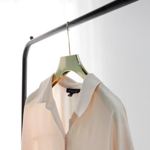 고급 논슬립 플라스틱 골드 치마정리 집게바지걸이 니트옷걸이 낱개