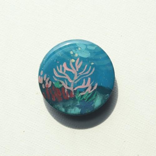 그려낸 바다구슬 그립톡 스마트톡