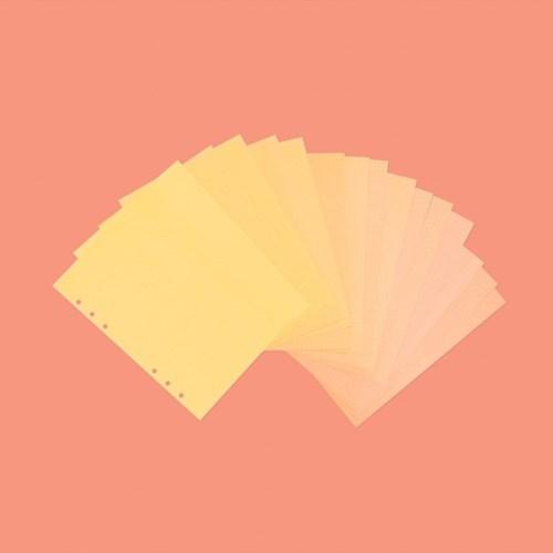 루카랩 A5 컬러모눈노트 vol.2 리필속지