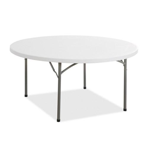 피크닉테이블 원탁 야외테이블 캠핑탁자 원형테이블