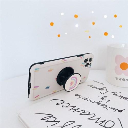 라인 무지개 스마트톡 아이폰 카메라보호케이스