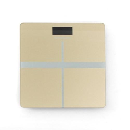 크로스 사각 디지털 체중계(베이지)