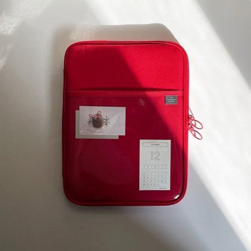 클리어 포켓 아이패드 파우치-11인치