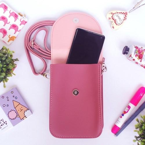 [아이스타] 귀요미 핸드폰가방 16종_보조가방/크로스백