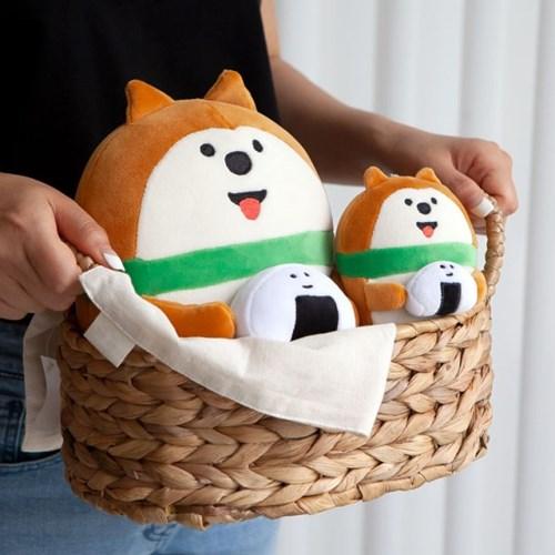데꼴 쫀득 키링 인형 강아지