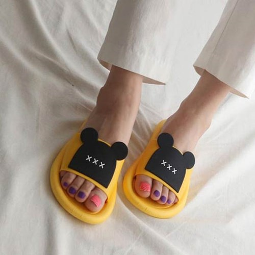 kami et muse Loose fit mouse slippers_KM20s262