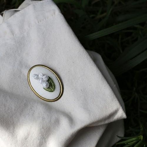 입체 은방울꽃 3종 혜자 자수소품 만들기 DIY KIT