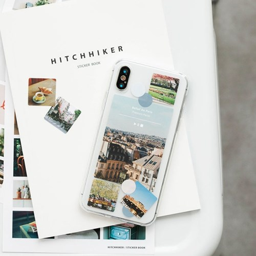 HITCHHIKER sticker book