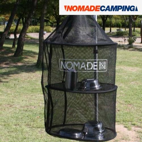 노마드 원형 3단 식기건조망 N-5412