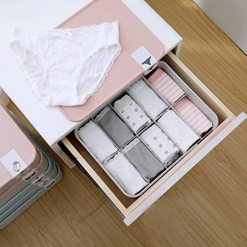 인블룸 파스텔뚜껑 양말속옷 정리함 일체형_(2947677)