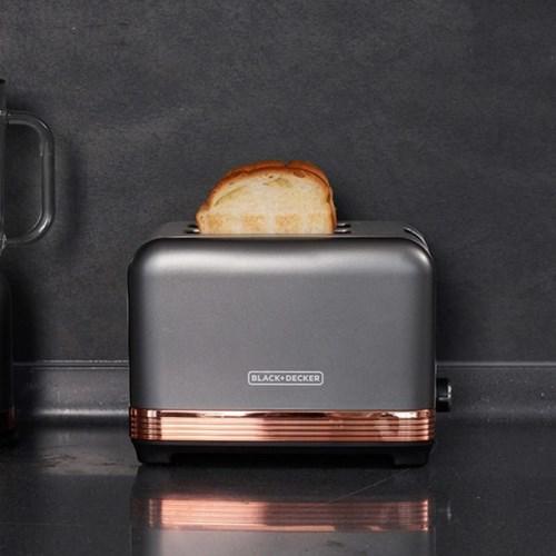블랙앤데커 BXET2001-A 토스터기 7단계 굽기조절