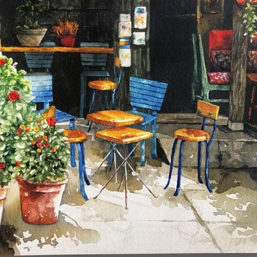 [A3 포스터, 캔버스액자] 햇살 맛집
