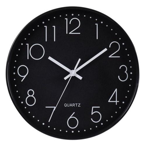 아날로그 인테리어 무소음 벽걸이 시계 GW002-BK