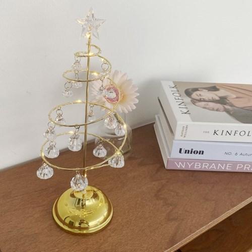 쥬얼 크리스마스 트리 스탠딩 모빌 데스크 샹들리에 (2 colors)