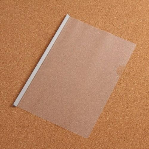 1p 스터디플랜 투명 쫄대 파일(그레이)