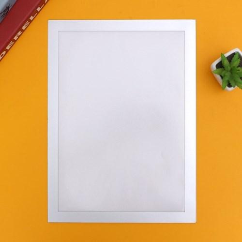 A4 초간단 자석프레임 광고 알림판(24x32.5cm) (실버)