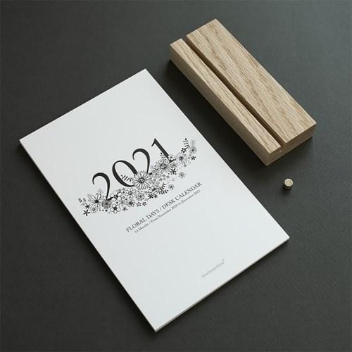 2021 플로랄데이즈 데스크 캘린더