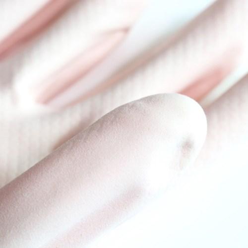 플라워 핑크 고무장갑