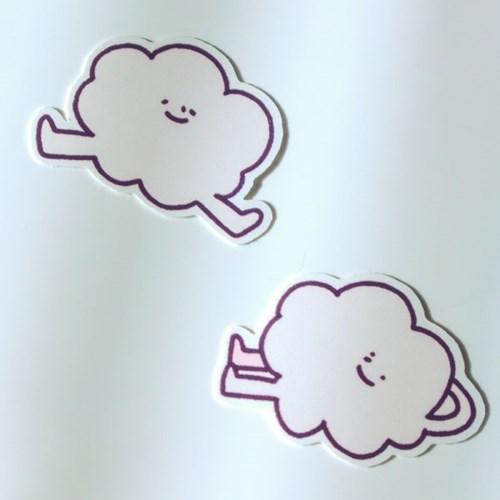 구름의 사생활 2021 탁상 캘린더/달력 REGULAR