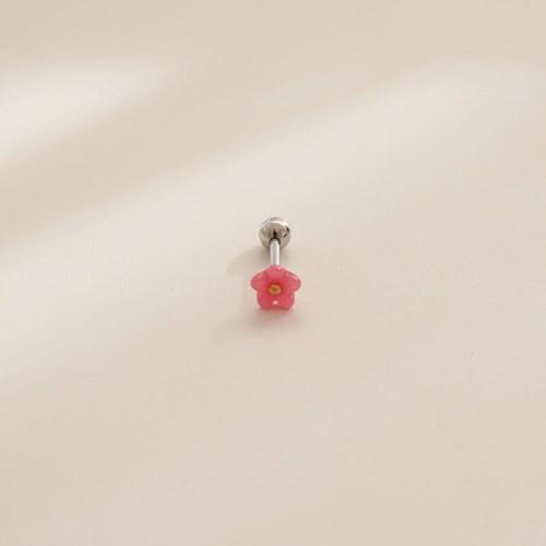 제이로렌 P0368 핑크 미니꽃 피어싱_(1228785)