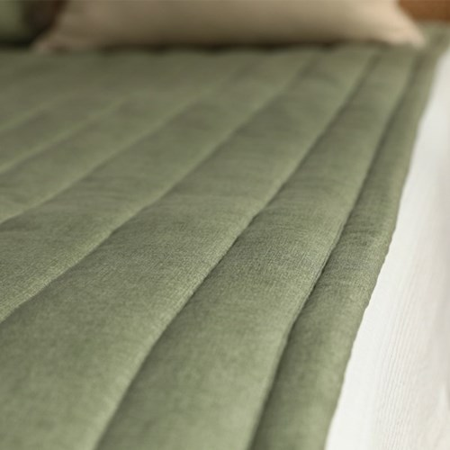 먼지없는 코코 미끄럼방지 누빔 침대패드(SS/Q)-7color