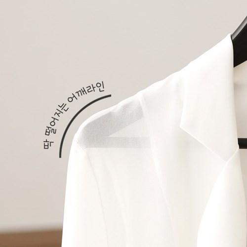 프리미엄 원목 옷걸이 M 블랙 30p