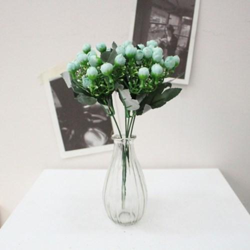 큐티 미니봉장미 인테리어 조화꽃장식(6color)