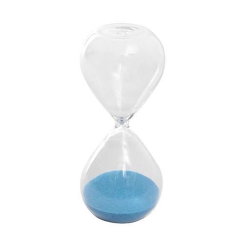 글라스타임 유리 모래시계(블루) 10분 인테리어소품