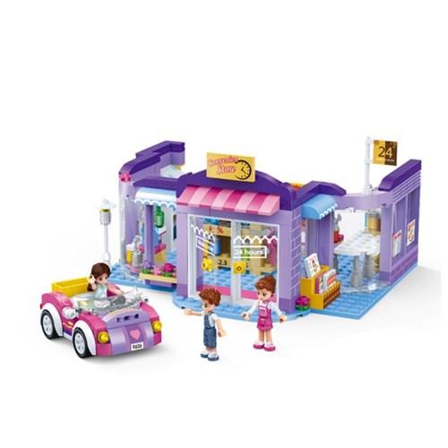모던걸즈 편의점 24시 9606/ 여아용 블럭 어린이선물