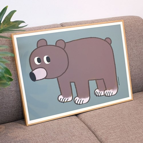 굴리굴리 포스터 BROWN BEAR (072)